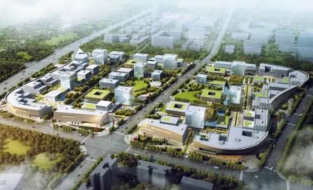 项目发展目标为高效打造集成电路产业生态圈,促进集成电路产业聚集和